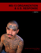 MS-13 Organization & U.S. Response cover